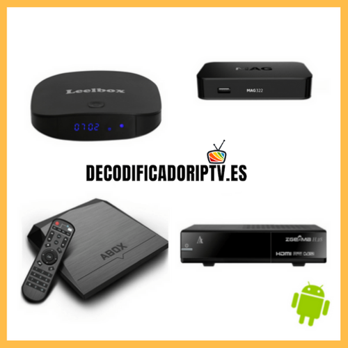 decodificador iptv