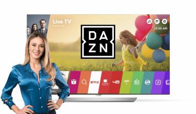 Cómo ver DAZN GRATIS en una Smart TV LG: la app para instalar