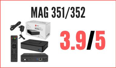 Decodificador Linux Mag 351/352: reseña, precio y comentarios
