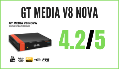 decodificador GT Media V8 Nova para IPTV