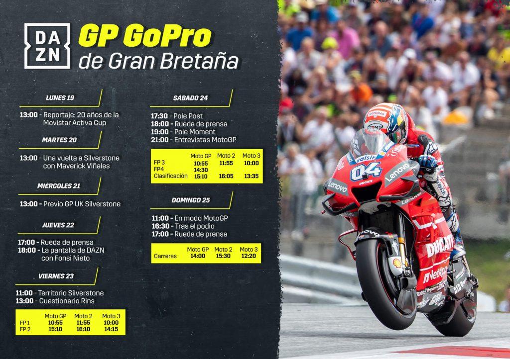 Moto Gp – Gran Bretaña: fecha y horario