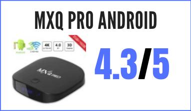 Decodificador MXQ Pro Android TV Box: reseña, precio y comentarios