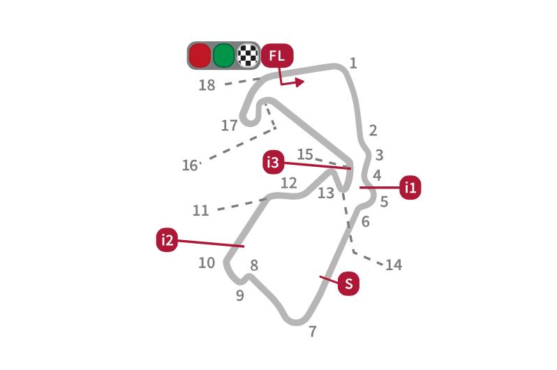 El circuito de Silverstone