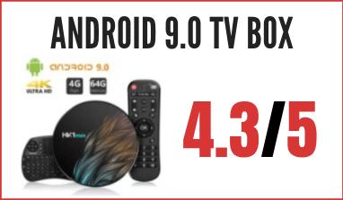 Decodificador Android 9.0 TV BOX con mini teclado: reseña, precio y comentarios
