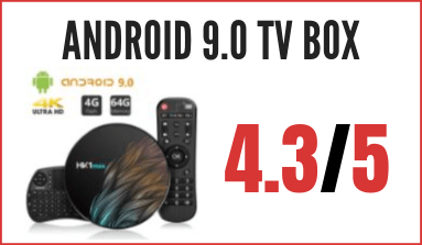 decodificador Android 9.0 TV BOX